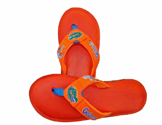 Florida Gators Leather Flip Flops